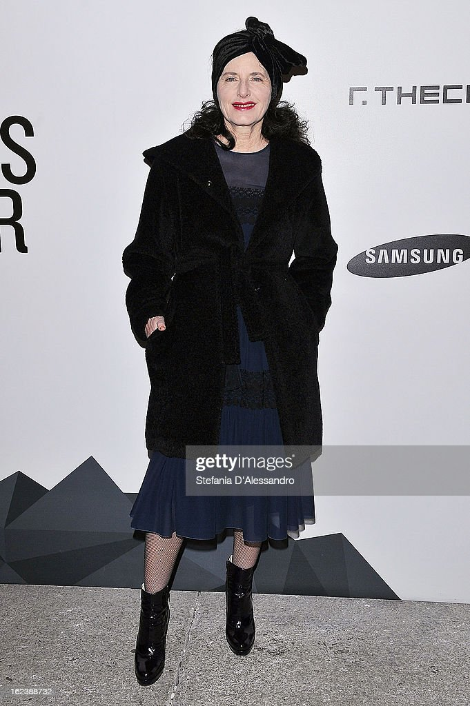 Luisa Beccaria attends The Vogue Talent's Corner held at Palazzo Morando during Milan Fashion Week Womenswear Fall/Winter 2013/14 on February 22, 2013 in Milan, Italy.