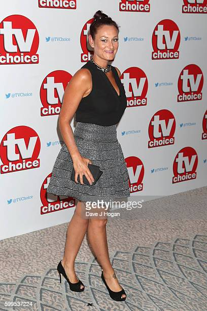Luisa BradshawWhite arrives for the TVChoice Awards at The Dorchester on September 5 2016 in London England