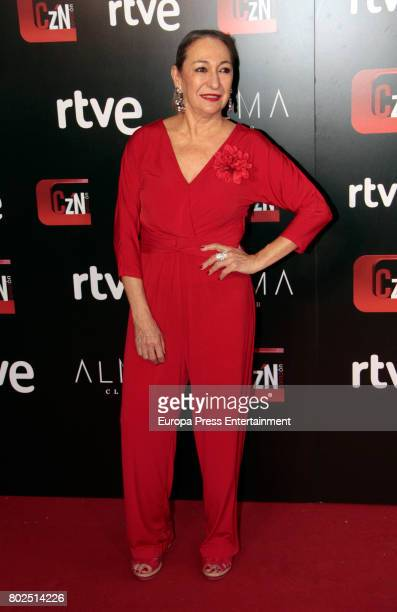 Luisa Gavasa attends 'Corazon' TV Programme 20th Anniversary at Alma club on June 27 2017 in Madrid Spain