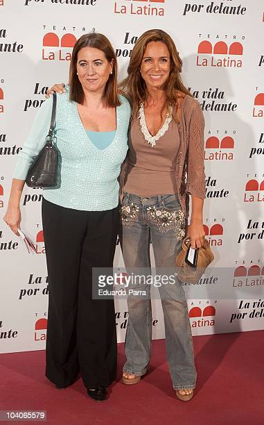 Luisa Martin and Lydia Bosch attend theatre opening season photocall at La Latina Theatre on September 13 2010 in Madrid Spain