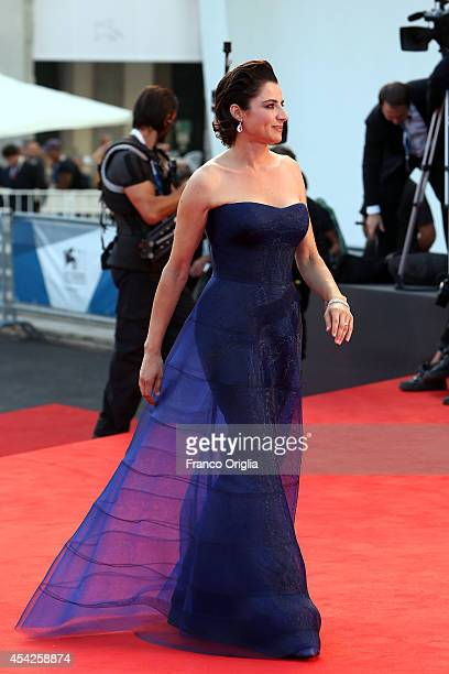 Luisa Ranieri attends the 'Birdman' Premiere during the 71st Venice Film Festival on August 27 2014 in Venice Italy