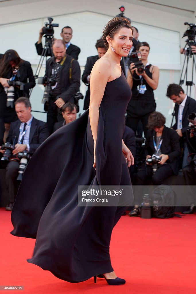 Luisa Ranieri attends the Closing Ceremony during the 71st Venice Film Festival on September 6 2014 in Venice Italy