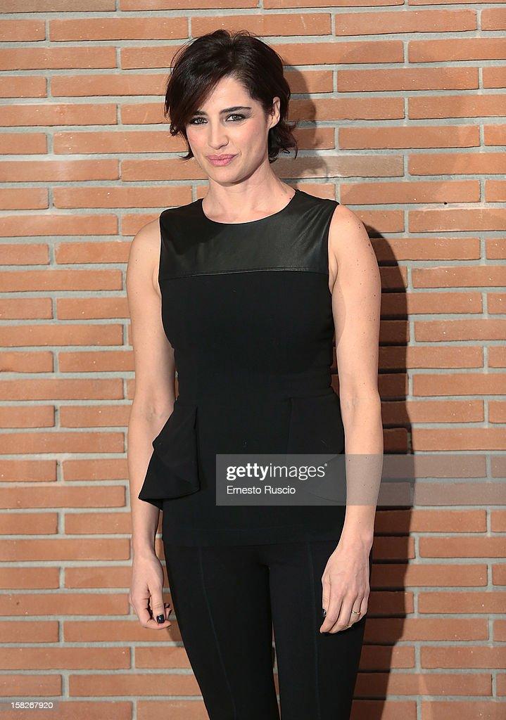 Luisa Ranieri attends the 'Colpi di Fulmine' photocall at Auditorium Parco Della Musica on December 12, 2012 in Rome, Italy.