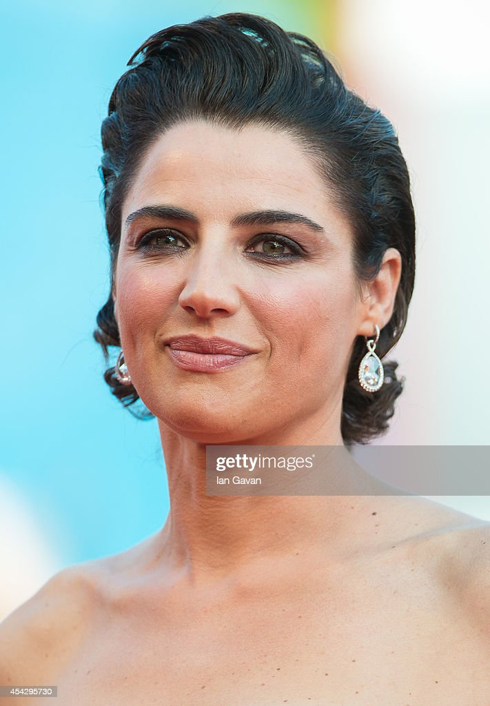 Luisa Ranieri attends the Opening Ceremony and 'Birdman' premiere during the 71st Venice Film Festival on August 27 2014 in Venice Italy