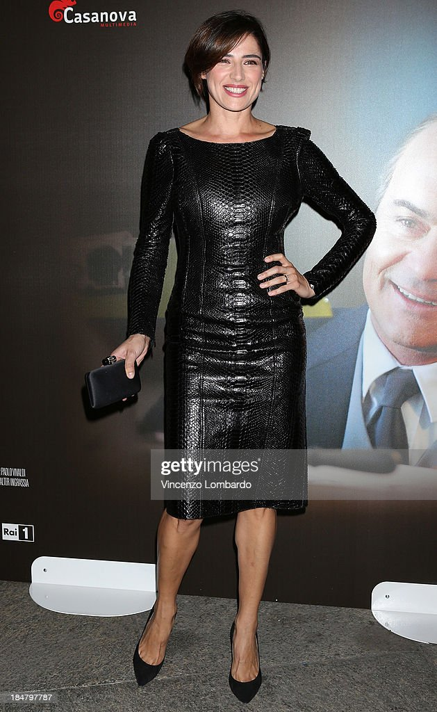 <a gi-track='captionPersonalityLinkClicked' href=/galleries/search?phrase=Luisa+Ranieri&family=editorial&specificpeople=830478 ng-click='$event.stopPropagation()'>Luisa Ranieri</a> attends the preview of film 'Adriano Olivetti. La forza di un sogno' on October 16, 2013 in Milan, Italy.