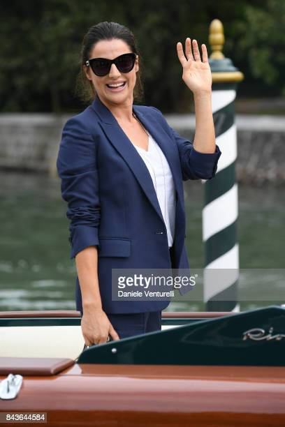 Luisa Ranieri is seen during the 74th Venice Film Festival on September 7 2017 in Venice Italy