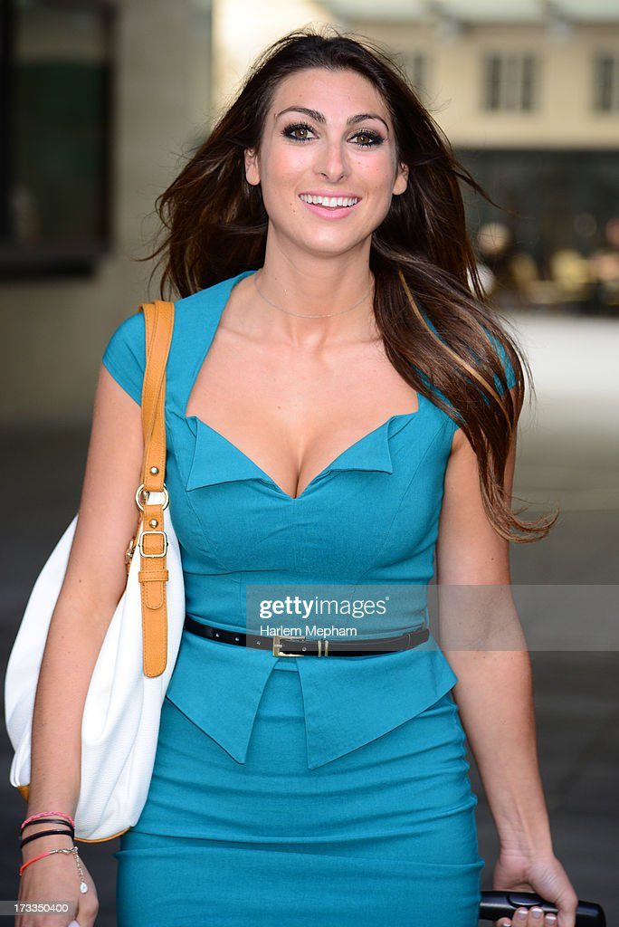 Luisa Zissman a contestant and finalist of the apprentice sighted at BBC Radio on July 12, 2013 in London, England.