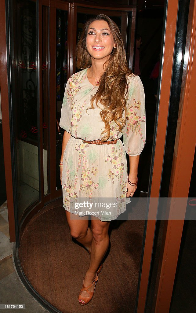 Luisa Zissman attending the Tim Drummond and Phil Hawksworth book launch party at the Sanctum Soho Hotel on September 24, 2013 in London, England.