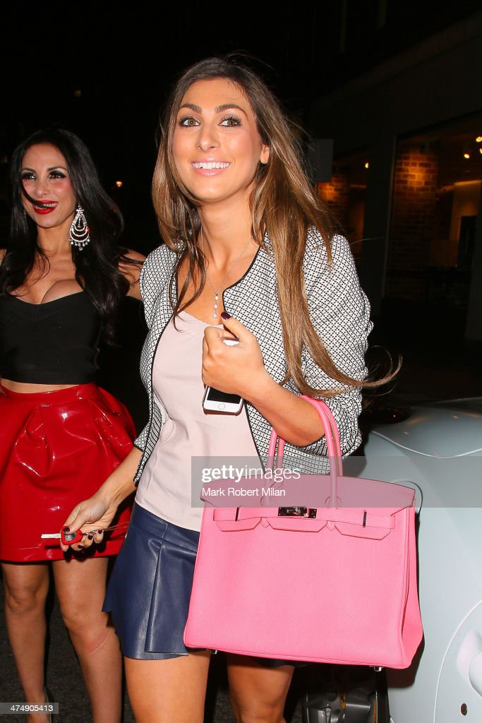 Luisa Zissman attending the Total Minx Launch Party on February 25, 2014 in London, England.