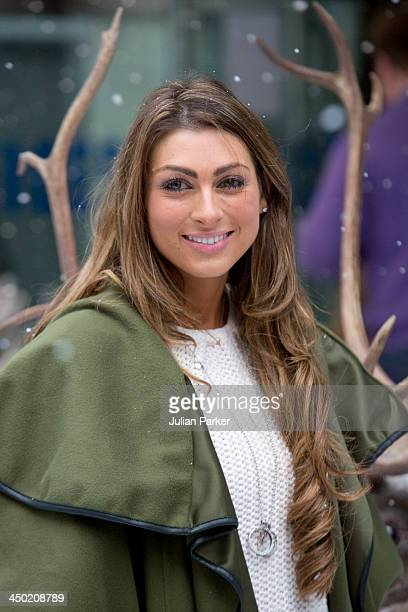 Luisa Zissman attends the celebrity screening of Disney's 'Frozen' on November 17 2013 in London United Kingdom