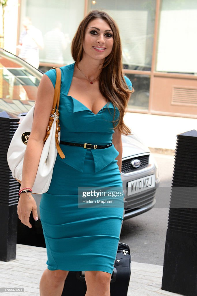 Luisa Zissman on the apprentice sighted at BBC Radio on July 12, 2013 in London, England.