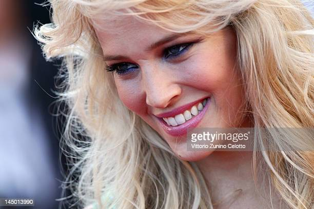 Luisana Lopilato arrives at 'Killing Them Softly' Premiere during the 65th Annual Cannes Film Festival at Palais des Festivals on May 22 2012 in...