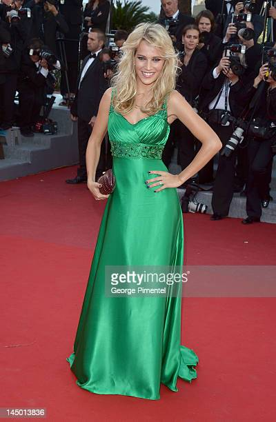 Luisana Lopilato attends the 'Killing Them Softly' Premiere during the 65th Annual Cannes Film Festival at Palais des Festivals on May 22 2012 in...