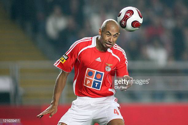 Luisao during the Portuguese Bwin League match between Academica de Coimbra and Benfica January 15 2007