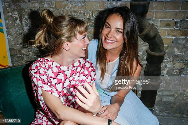 Luise Baehr and Janina Uhse attend the GRAZIA Best Inspiration Award 2015 on May 06 2015 in Berlin Germany