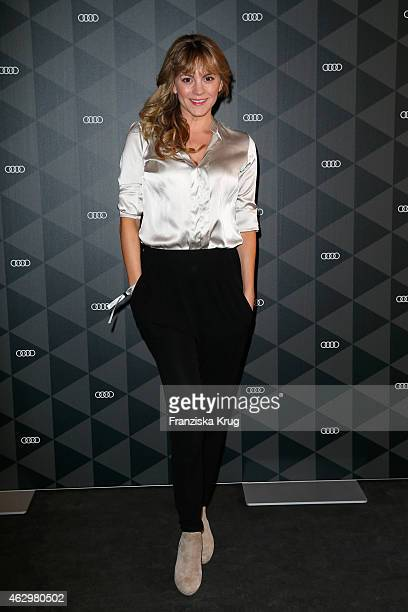 Luise Baehr attends the AUDI Berlinale Brunch during the 65th Berlinale International Film Festival at AUDI Lounge on February 8 2015 in Berlin...