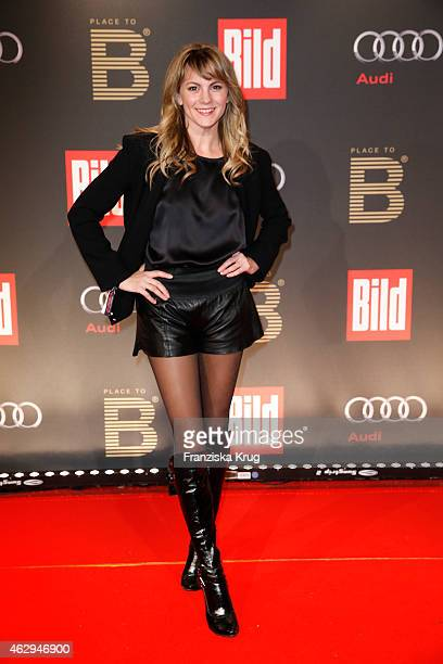 Luise Baehr attends the Bild 'Place to B' Party on February 07 2015 in Berlin Germany