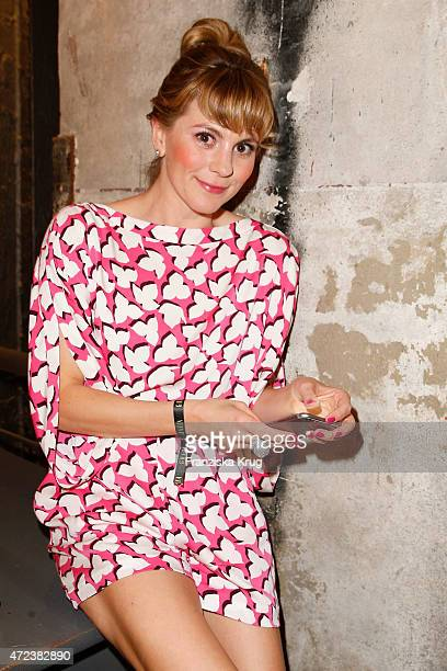 Luise Baehr attends the GRAZIA Best Inspiration Award 2015 on May 06 2015 in Berlin Germany