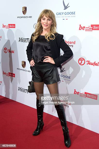 Luise Baehr attends the Medienboard BerlinBrandenburg Reception at Ritz Carlton on February 7 2015 in Berlin Germany