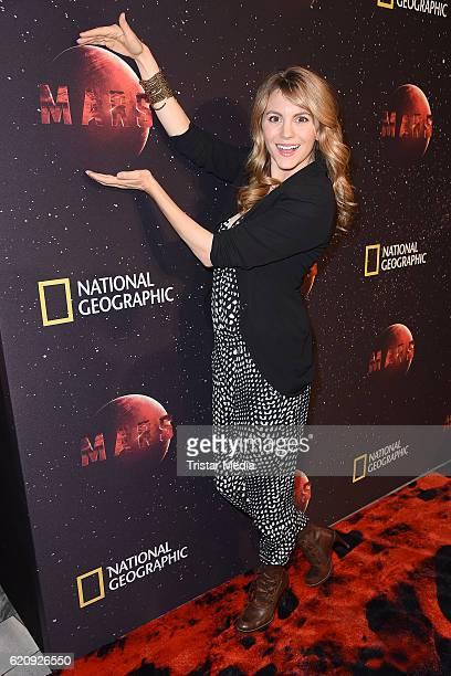 Luise Baehr attends the NatGeo Series 'Mars' Premiere on November 3 2016 in Berlin Germany