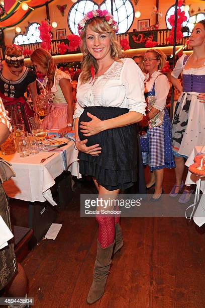 Luise Baehr attends the Regines Sixt Damen Wiesn during the Oktoberfest 2015 on September 21 2015 in Munich Germany