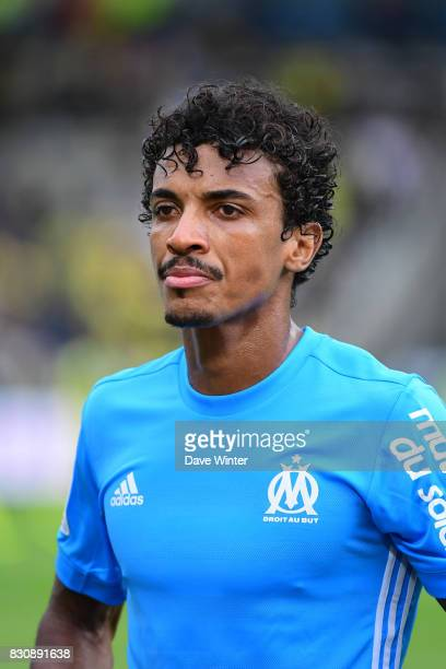 Luiz Gustavo Dias of Marseille after the Ligue 1 match between FC Nantes and Olympique Marseille at Stade de la Beaujoire on August 12 2017 in Nantes