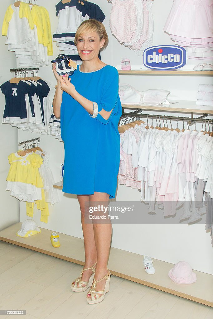 Lujan Arguelles Presents Her Favourite Chicco Products in Madrid