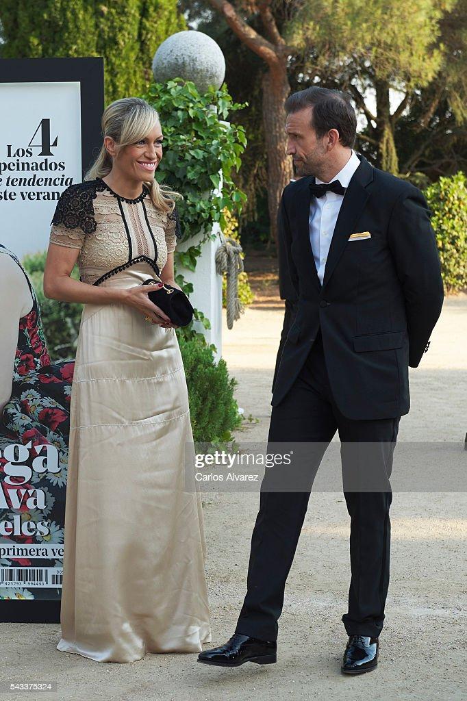 Lujan Arguelles and Carlos Sanchez attend 'Yo Dona' International awards on June 27, 2016 in Madrid, Spain.