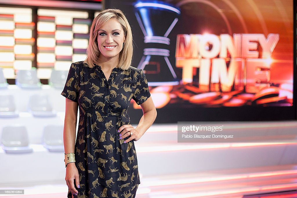 Lujan Arguelles attends a photocall for new television programme 'Money Time' at Picaso Estudios on April 2, 2013 in Madrid, Spain.