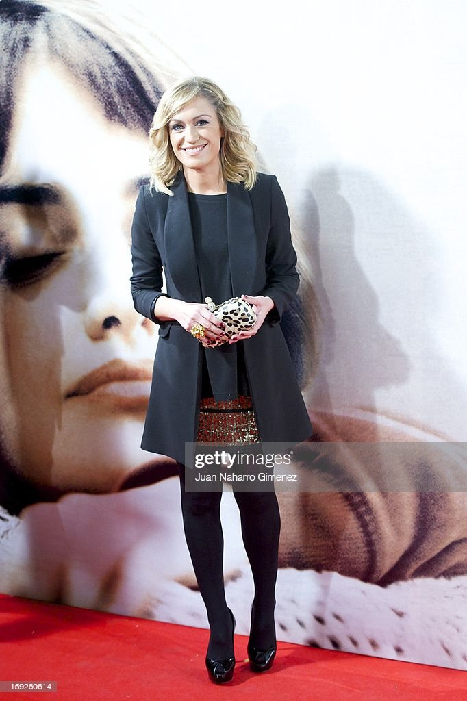Lujan Arguelles attends 'Venuto Al Mondo' (Volver A Nacer) premiere at Capitol cinema on January 10, 2013 in Madrid, Spain.