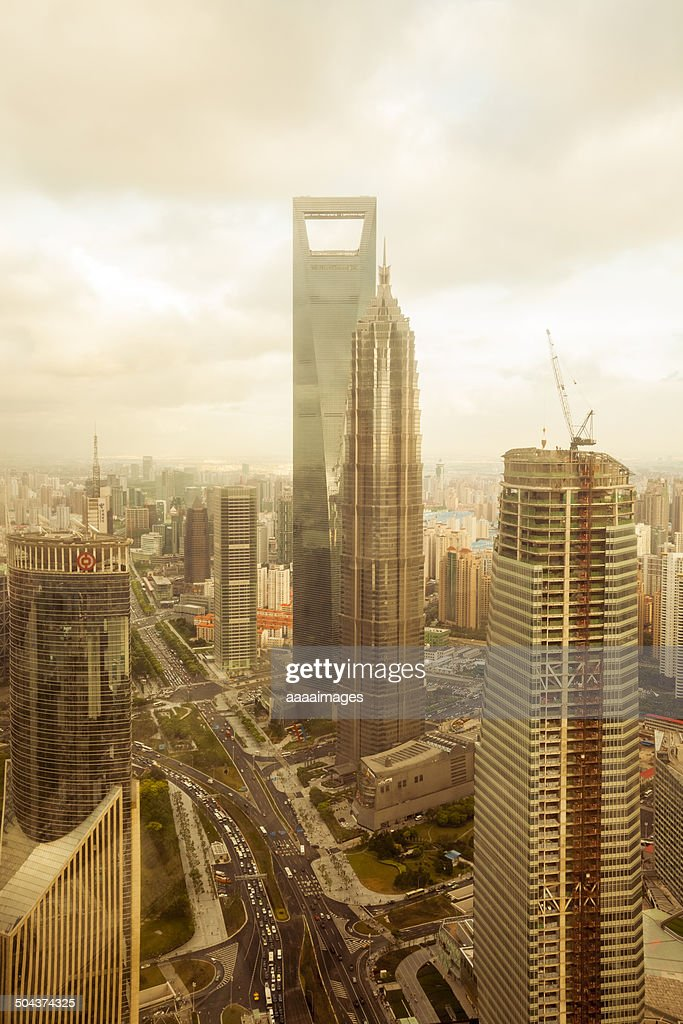Lujiazui financial centre