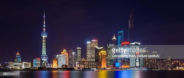 Lujiazui Nightview, Shanghai Skyline