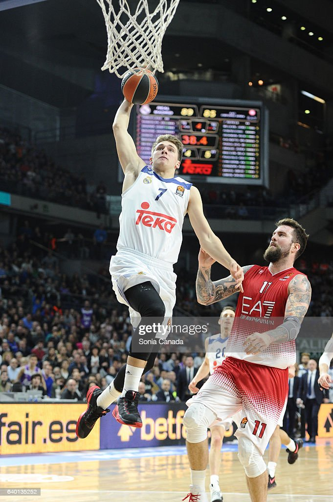 Real Madrid v EA7 Emporio Armani Milan - Turkish Airlines Euroleague