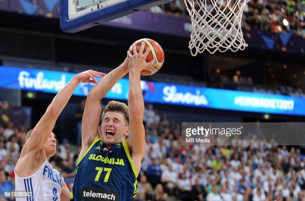 Luka Doncic of Slovenia during the FIBA Eurobasket 2017 Group A match between Finland and Slovenia on September 2 2017 in Helsinki Finland