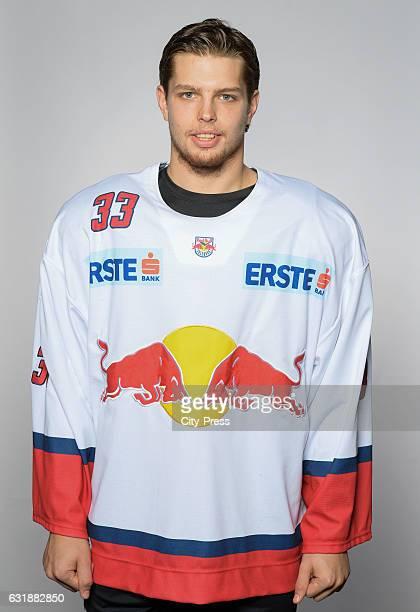 Luka Gracnar of EC Red Bull Salzburg during the portrait shot September 16 2016 in Salzburg Austria