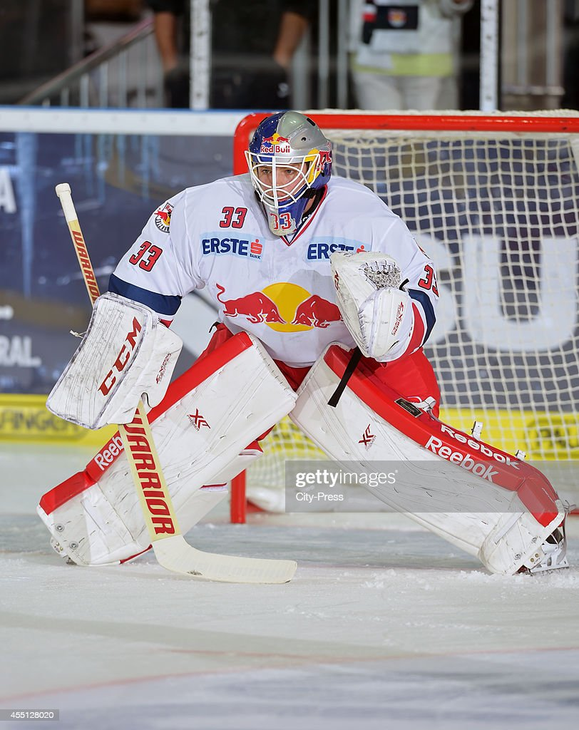 Luka Gracnar of EC Red Bull Salzburg in action during the action shot on august 16, 2014 in Salzburg, Germany.