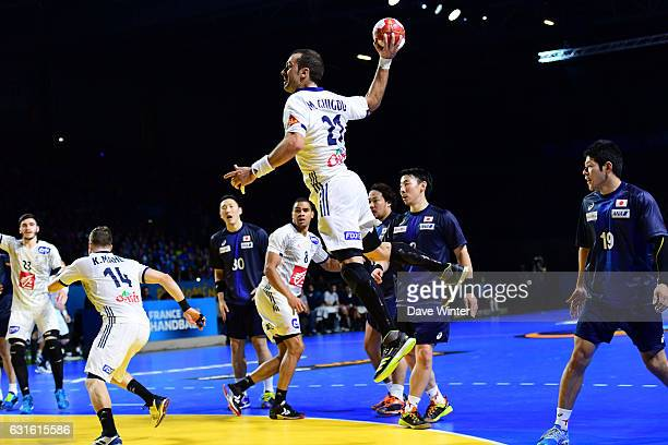 Luka Karabatic of France during the IHF Men's World Championship match between France and Japan preliminary round Pool A on January 13 2017 in Nantes...