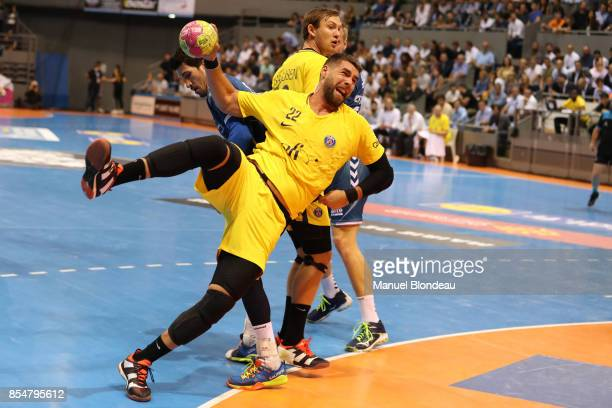 Luka Karabatic of Paris SG during the Lidl Starligue match between Toulouse and Paris Saint Germain on September 27 2017 in Toulouse France