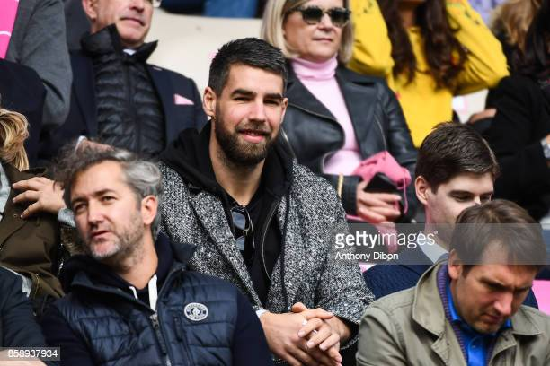 Luka Karabatic of PSG during the Top 14 match between Stade Francais and Montpellier on October 7 2017 in Paris France