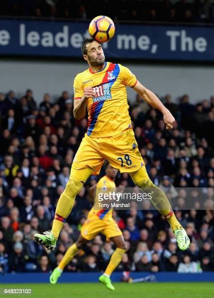 Luka Milivojevic of Crystal Palace during the Premier League match between West Bromwich Albion and Crystal Palace at The Hawthorns on March 4 2017...