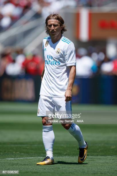 Luka Modric of Real Madrid during the International Champions Cup 2017 match between Real Madrid v Manchester United at Levi'a Stadium on July 23...