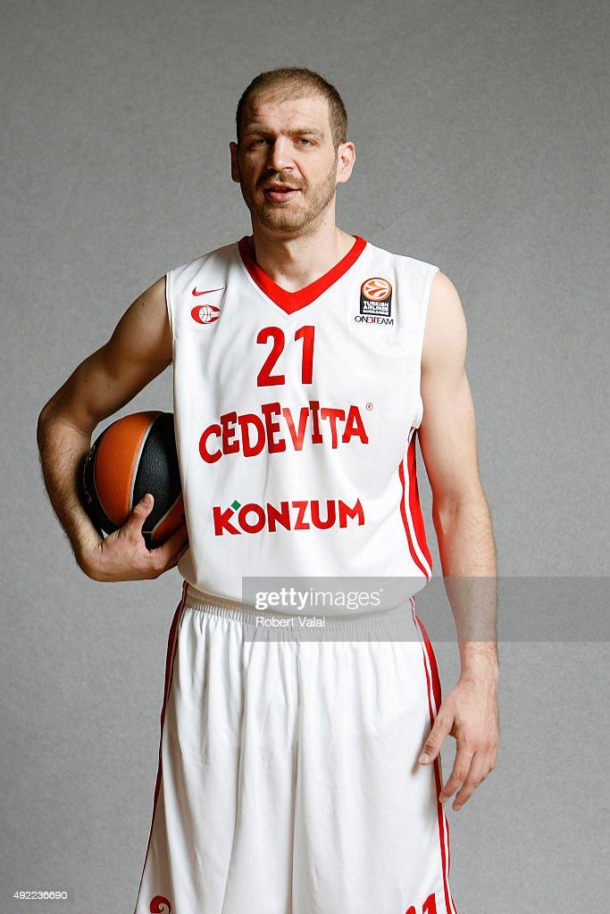 Cedevita Zagreb 2015/2016 Turkish Airlines Euroleague Basketball Media Day