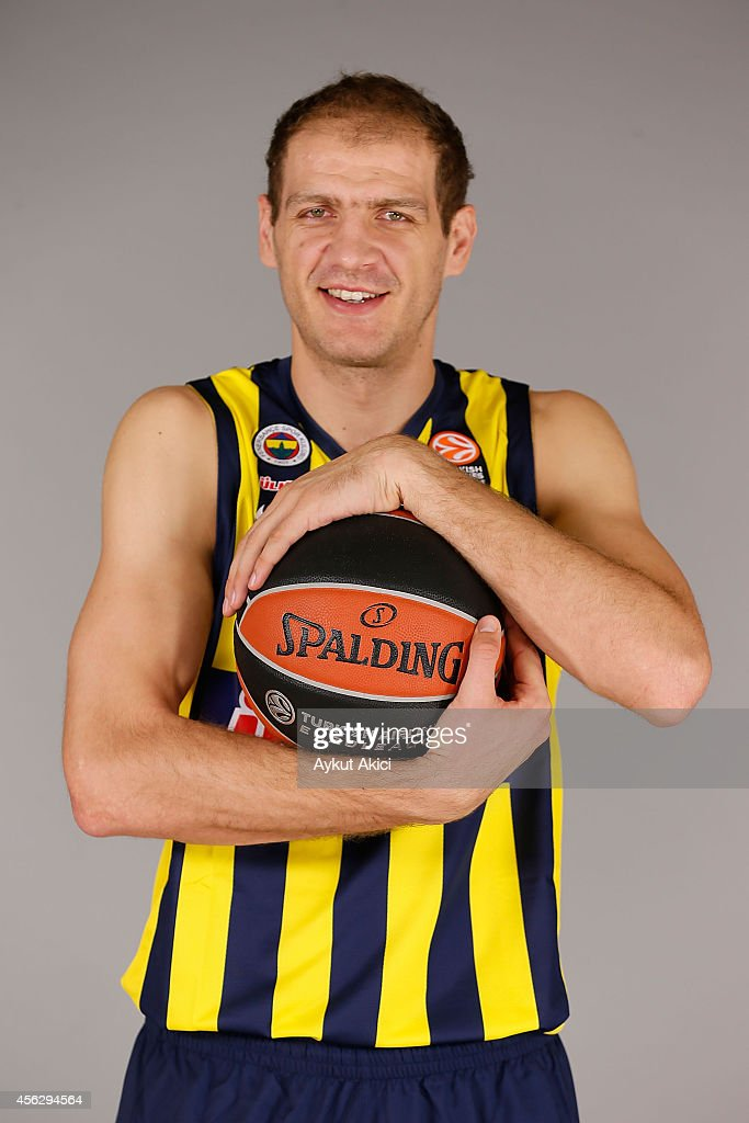Luka Zoric, #22 poses during the Fenerbahce Ulker Istanbul 2014/2015 Turkish Airlines Euroleague Basketball Media Day at Ulker Sport Arena on September 27, 2014 in Istanbul, Turkey.