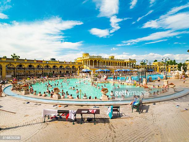 Lukacs Thermal Baths in Budapest, Hungary