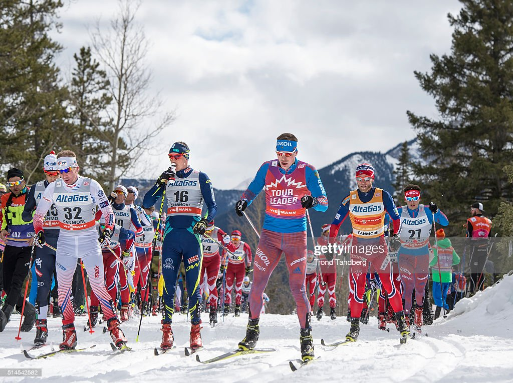 <a gi-track='captionPersonalityLinkClicked' href=/galleries/search?phrase=Lukas+Bauer&family=editorial&specificpeople=724003 ng-click='$event.stopPropagation()'>Lukas Bauer</a> (CZE), <a gi-track='captionPersonalityLinkClicked' href=/galleries/search?phrase=Alexey+Poltoranin&family=editorial&specificpeople=4131263 ng-click='$event.stopPropagation()'>Alexey Poltoranin</a> (KAZ), Sergey Ustiugov (RUS), <a gi-track='captionPersonalityLinkClicked' href=/galleries/search?phrase=Martin+Johnsrud+Sundby&family=editorial&specificpeople=4668146 ng-click='$event.stopPropagation()'>Martin Johnsrud Sundby</a> (NOR), Alexander Bessmertnykh (RUS) during Cross Country Men Skiathlon 15 km Classic + 15 km Free on March 09, 2016 in Canmore, Canada .