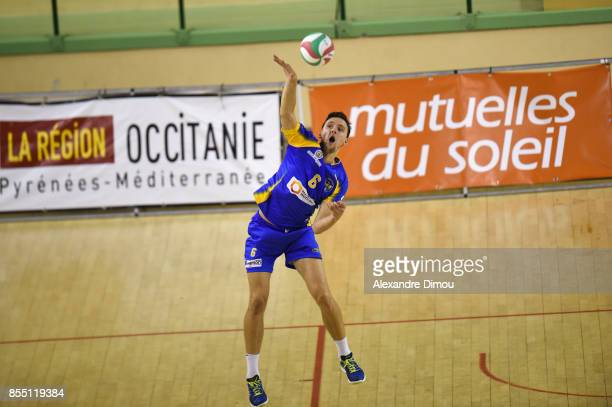 Lukas Demar of Nice during the Volleyball friendly match on September 22 2017 in Montpellier France