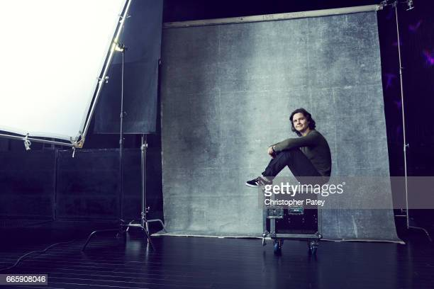 Lukas Forchhammer of danish pop and soul band Lukas Graham is photographed for Billboard Magazine on November 17 2016 in Las Vegas Nevada Published...
