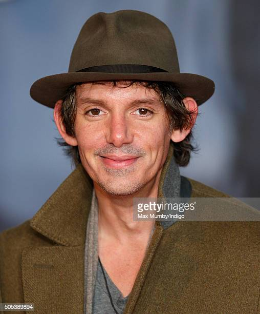 Lukas Haas attends the UK Premiere of 'The Revenant' at the Empire Leicester Square on January 14 2016 in London England