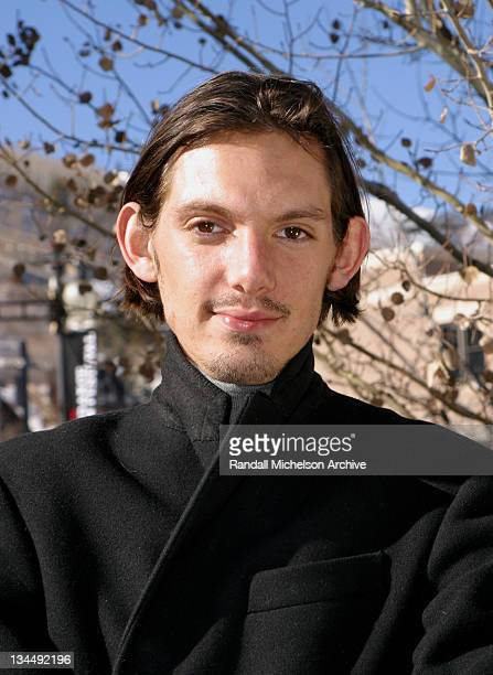 Lukas Haas during 2003 Sundance Film Festival 'Bookies' Outdoor Portraits at Main Street Park City in Park City Utah United States