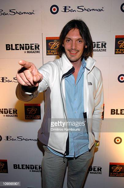 Lukas Haas during 2005 Park City Blender Sessions with Juliette and the Licks and Kings Of Leon Arrivals at Harry O's in Park City Utah United States